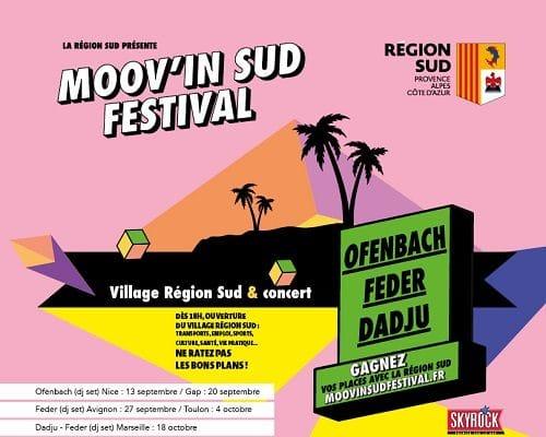 Gagnez vos places pour le Moov'In Sud Festival !