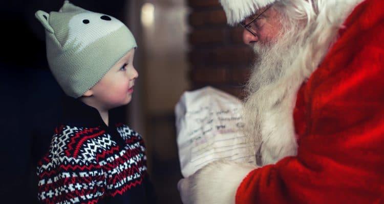 Le Père Noël à Plan de Campagne !